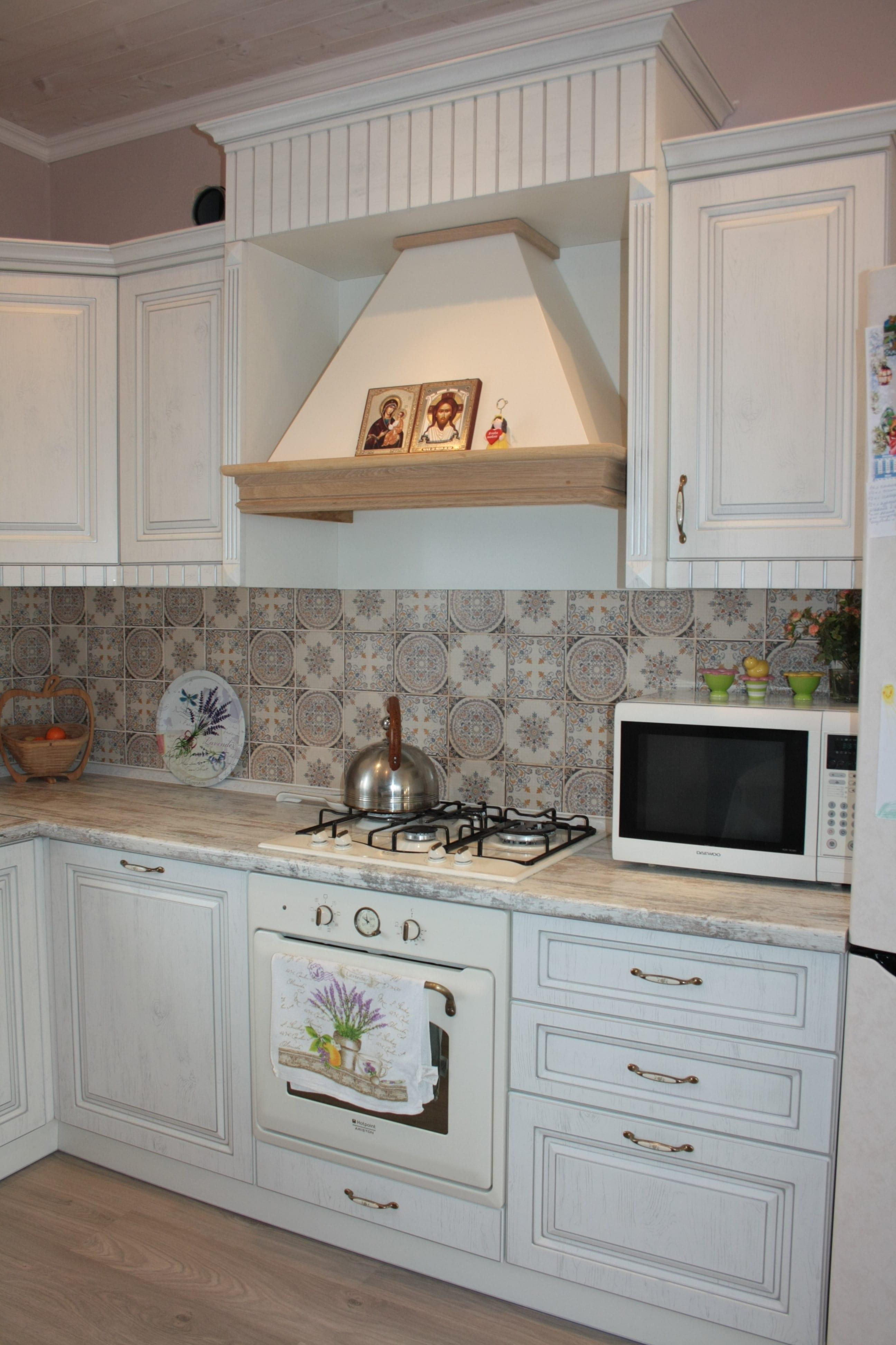 Кухня угловая прованс