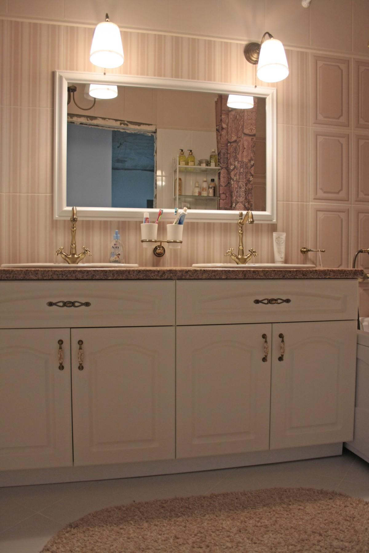 Мебель для ванной столешница камень