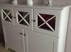 Шкаф комод белый кухонный