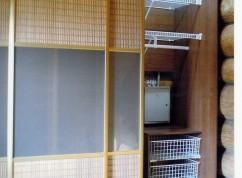 Шкаф-купе двери ротанг