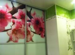 Двери купе в ванную комнату