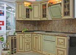 Кухня ясень патина СПб