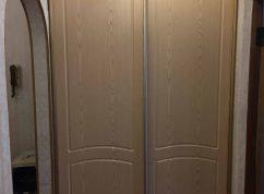 Двери купе МДФ в нишу в прихожей
