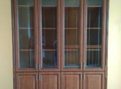 Шкаф книжный фасады с патиной